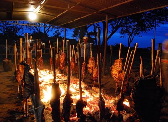 platos típicos de barinas carne en vara