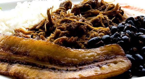 platos típicos de barinas pabellon criollo venezolano