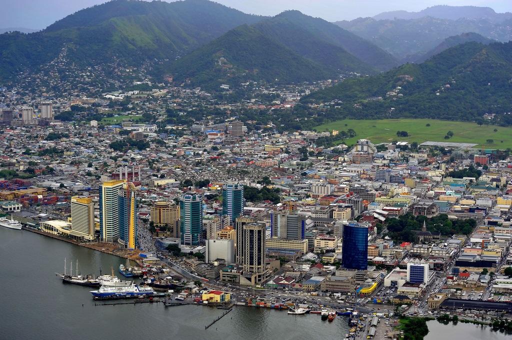 Puerto España, Capital de Trinidad y Tobago