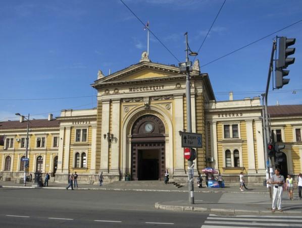 estacion central de belgrado