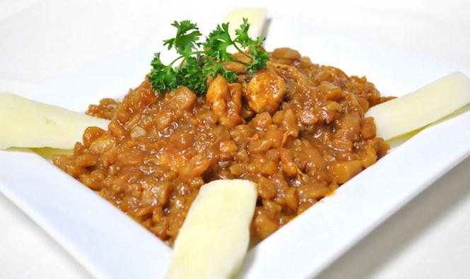 platos tipicos costa del peru carapulcra