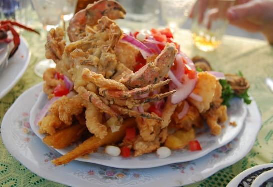 platos tipicos costa del peru jalea mixta