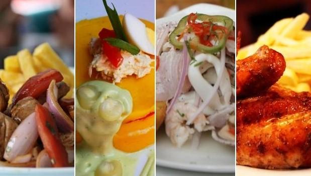 platos típicos de la costa del Peru